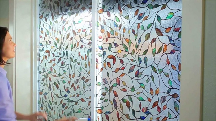 Tinted Plastic Film For Windows | Stained Glass Window Film Home Depot | Window Film Home Depot