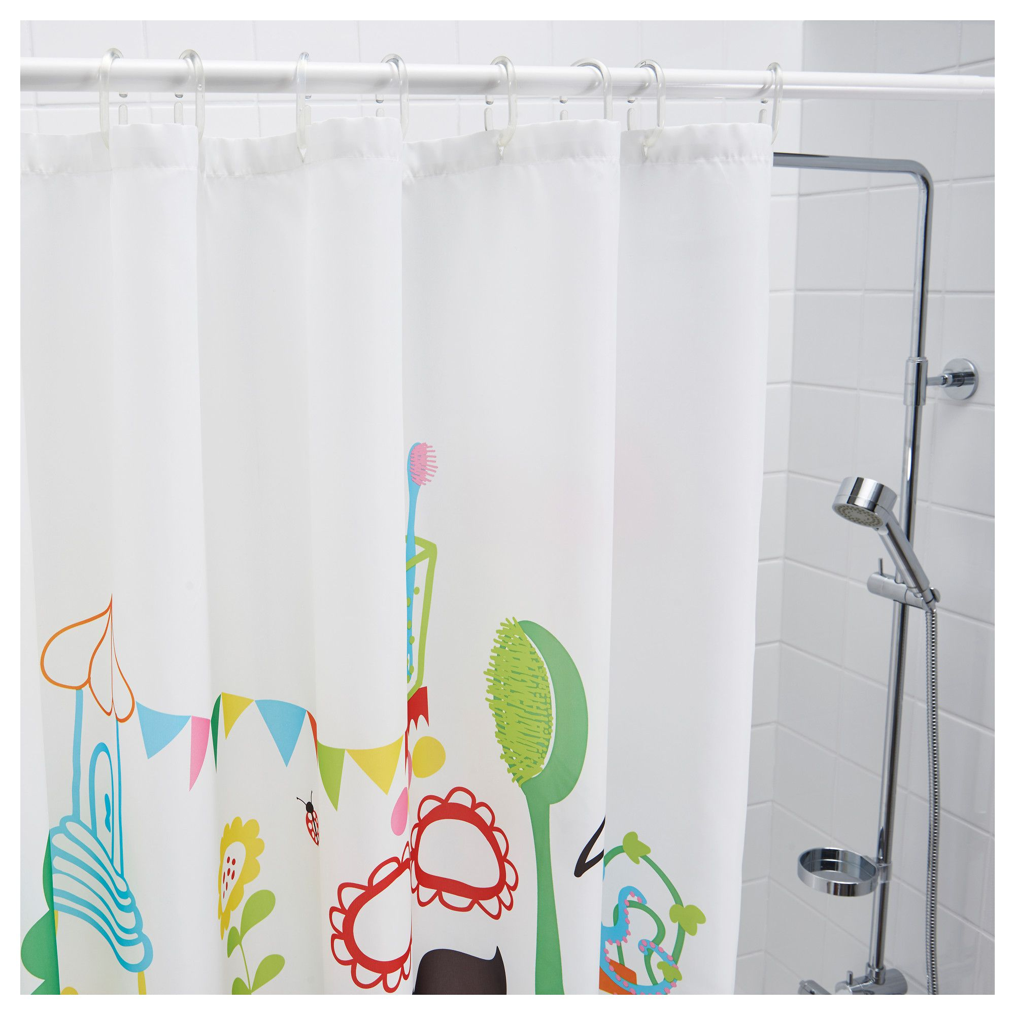Ikea Shower Curtain for Best Your Bathroom Decoration: Tvingen Shower Curtain | Ikea Shower Curtain | Shower Curtain Rails Ikea