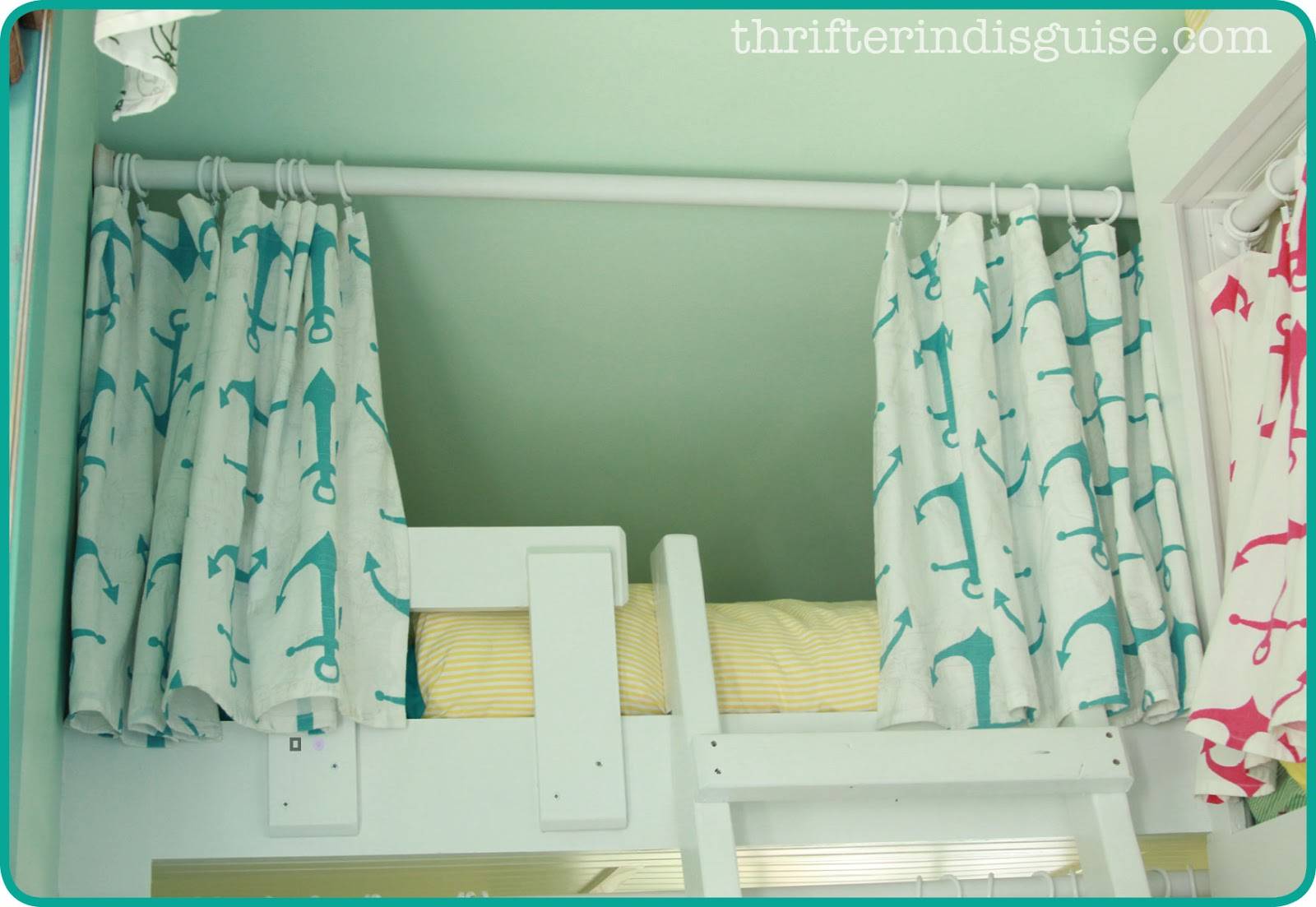 Bed Divider Design Ideas with Bunk Bed Curtains: Twin Bed Canopy Tent | Bunk Bed Curtains | Bunk Bed Curtains