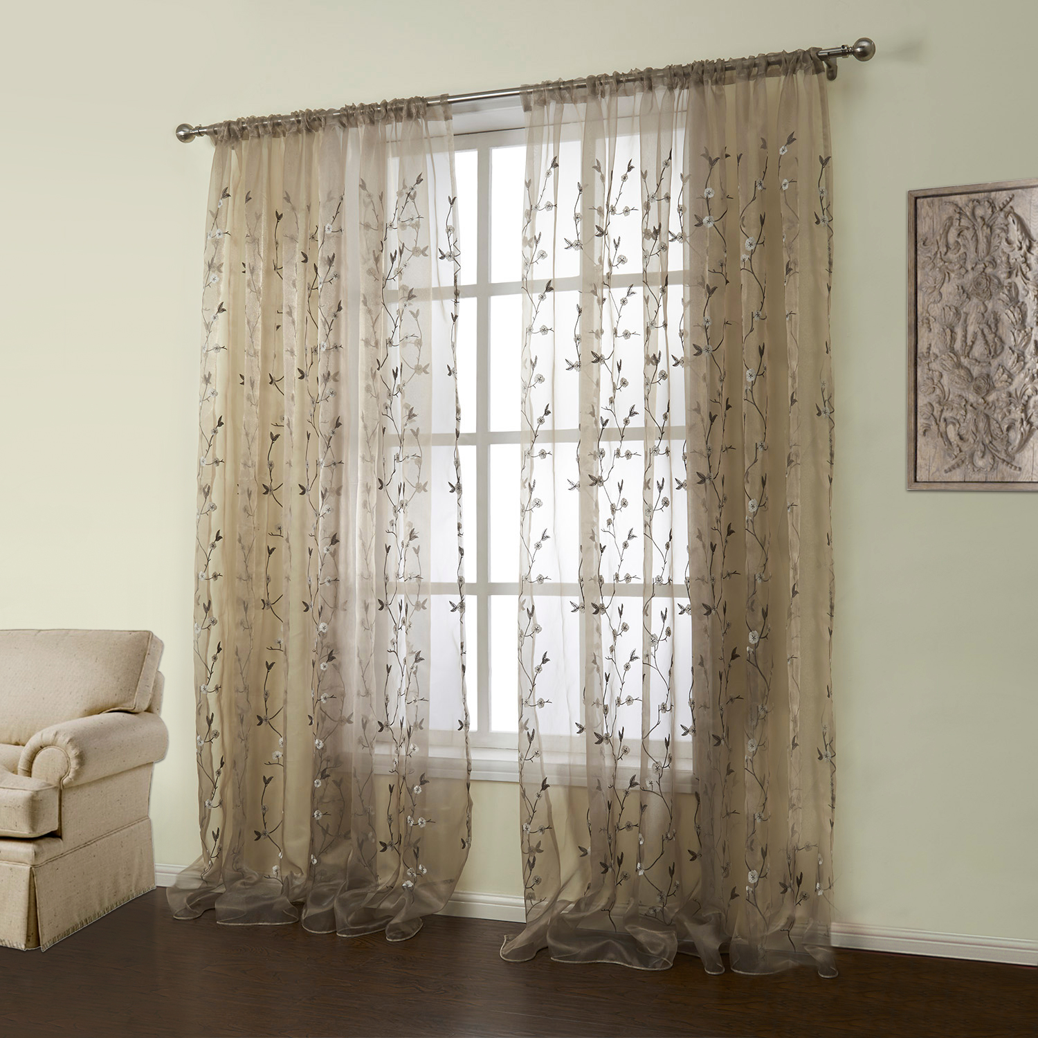Urban Outfitters Curtains | Embroidered Curtains | Embroidered Panel Curtains