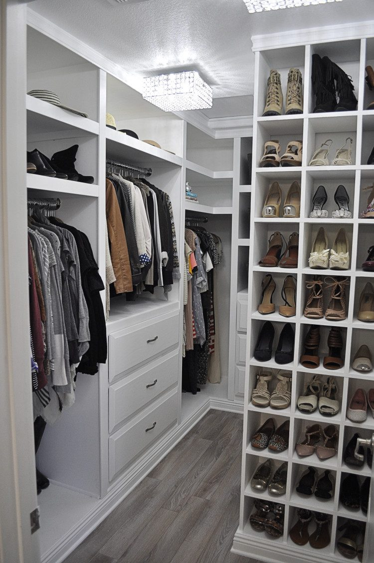 Walk in Closet Designs Plans | Rubbermaid Closet Planner | Closet Planner