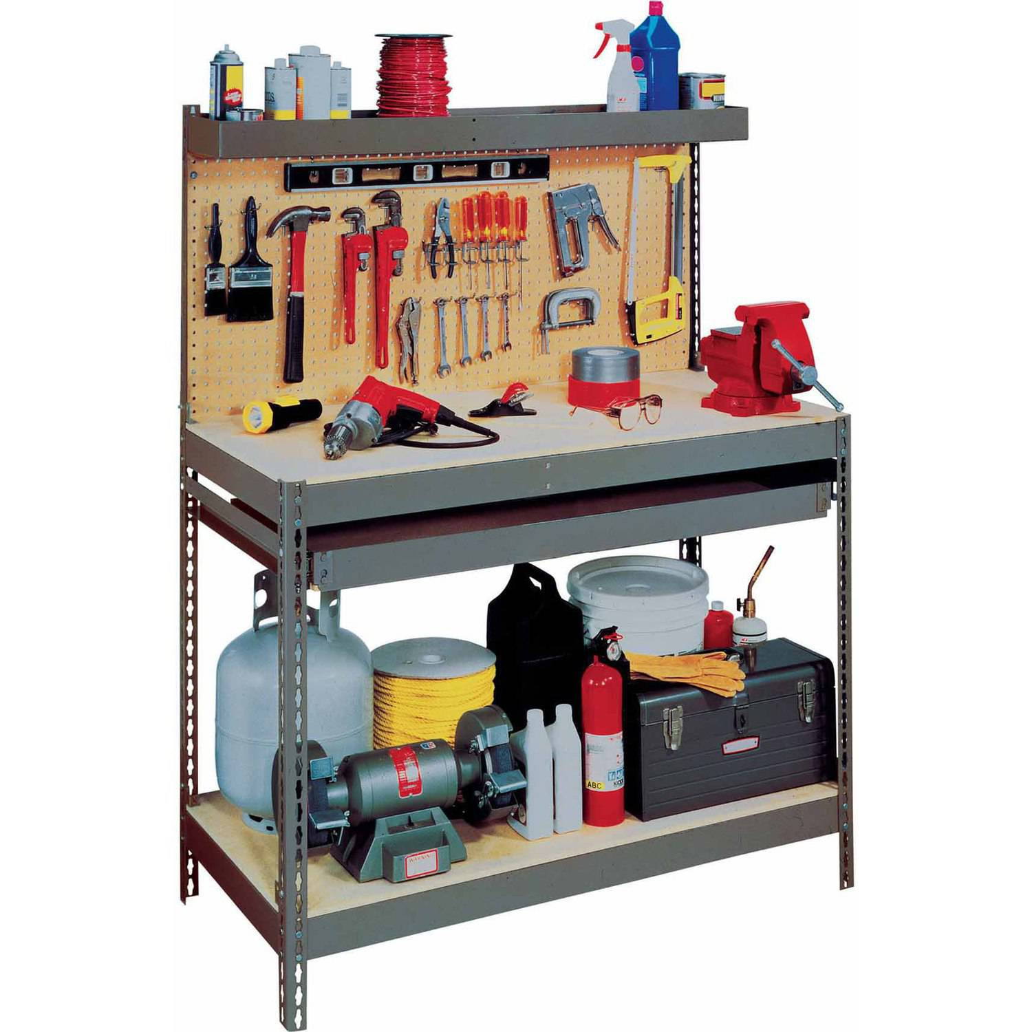 Wall Mounted Folding Workbench | Fold Down Workbench Plans | Fold Down Workbench Plans Free