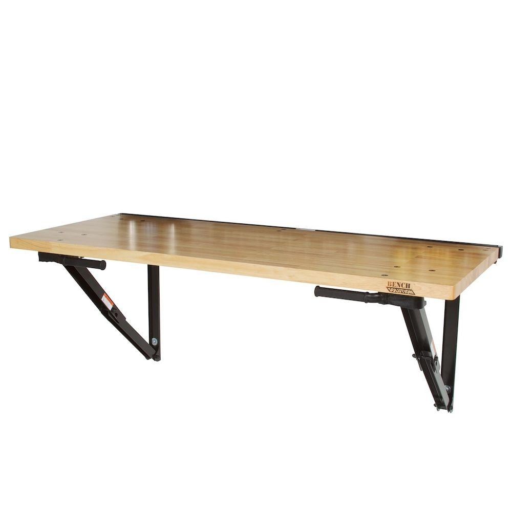 Wall Mounted Folding Workbench | Folding Bench Brackets | Folding Workbench Legs