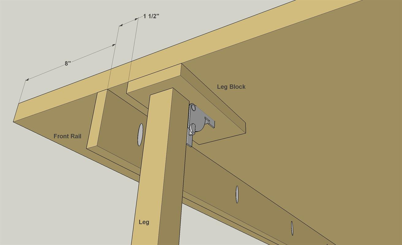Wall Mounted Folding Workbench | Folding Bench Brackets | Wall Mounted Folding Workbench