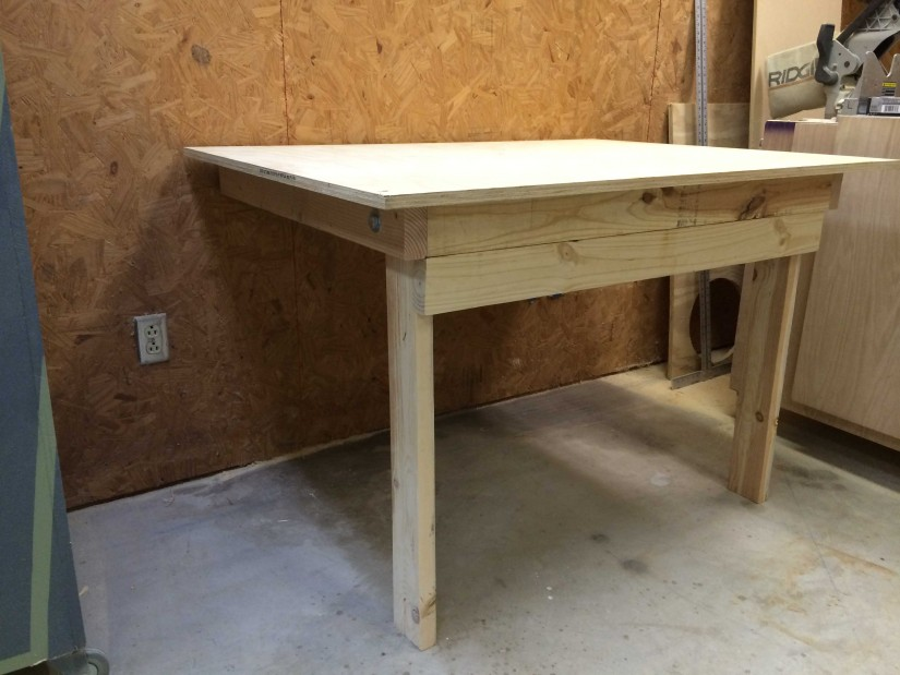 Wall Mounted Folding Workbench | Folding Work Benches | Folding Workbench Plans
