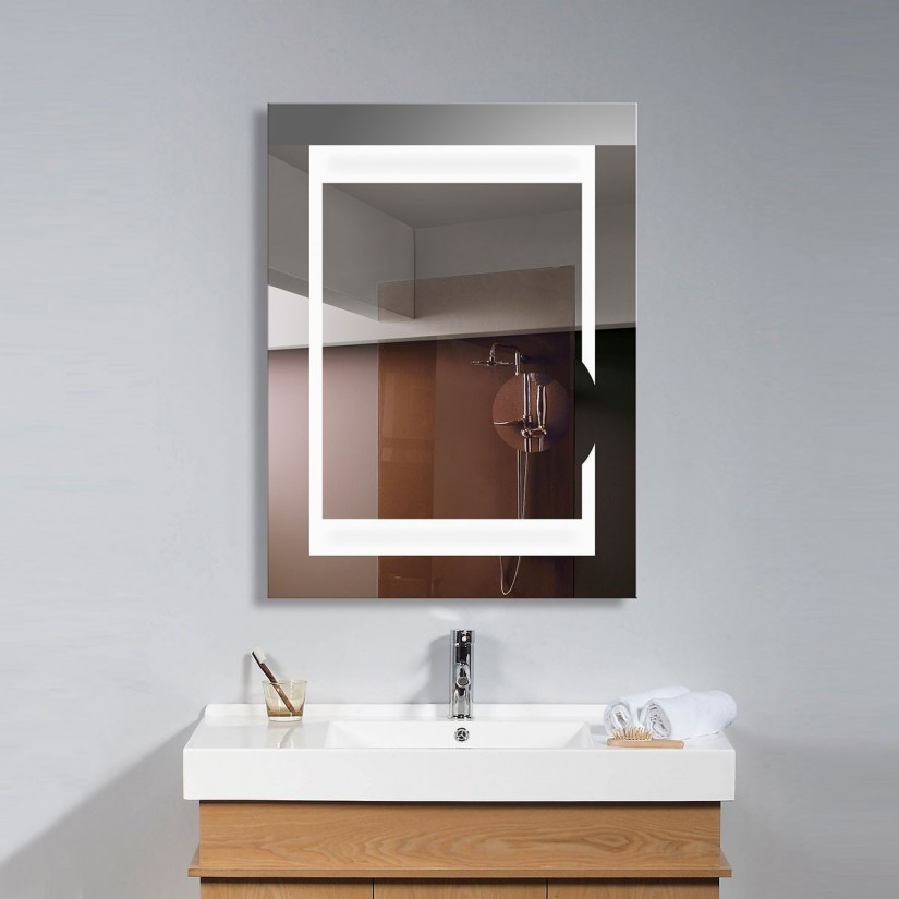 Wall Mounted Lighted Makeup Mirrors | Lighted Wall Mirror | Lighted Wall Mount Magnifying Makeup Mirror