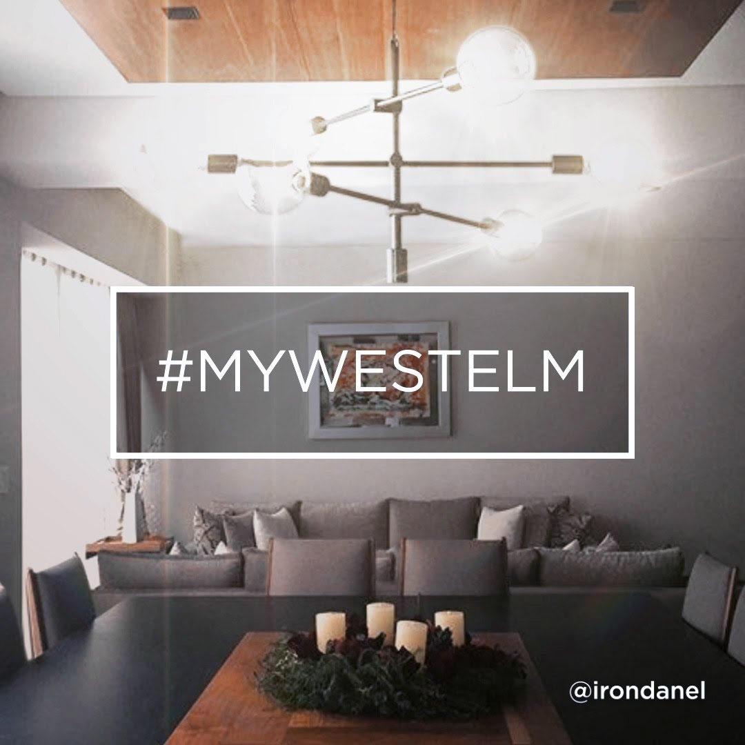 West Elm Capiz Chandelier | West Elm Chandelier | West Elm Chandelier