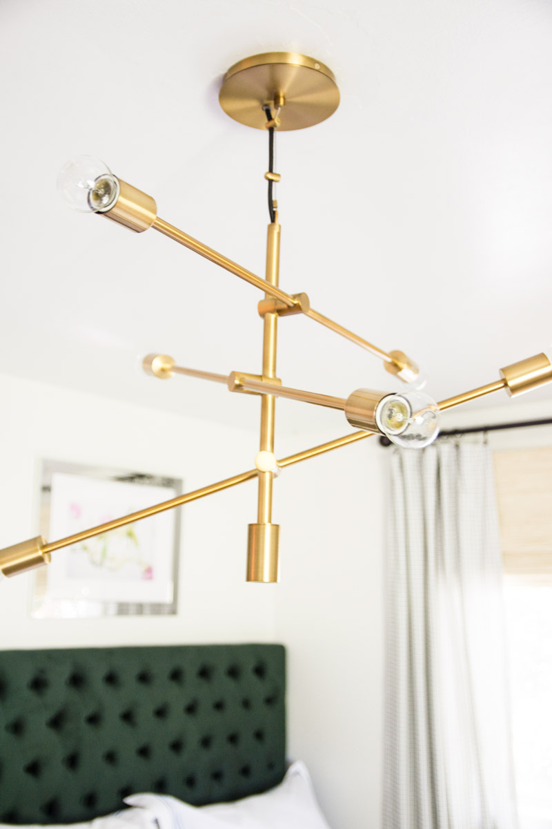 West Elm Capiz | Danish Modern Chandelier | West Elm Chandelier