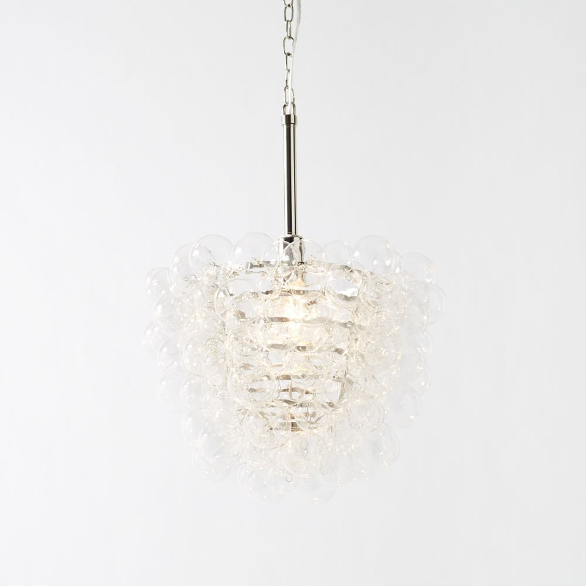 West Elm Chandelier | Modern Vintage Chandelier | West Elm Mobile Chandelier