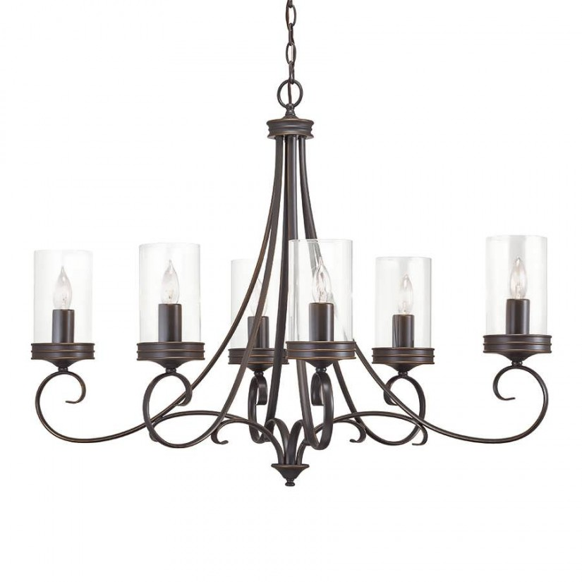 West Elm Chandelier | Pottery Barn Ceiling Lights | Modern Round Crystal Chandelier