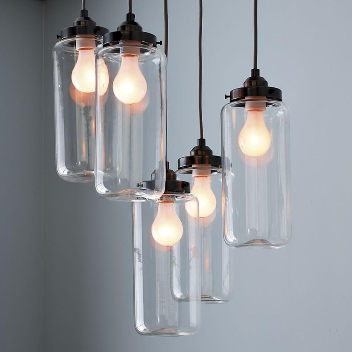 West Elm Chandelier | West Elm Glass Orb Chandelier | West Elm Pendant Light