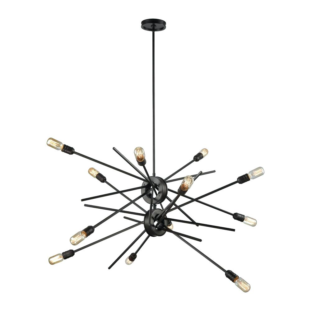 West Elm Glass Orb Chandelier | Rectangular Capiz Chandelier | West Elm Chandelier