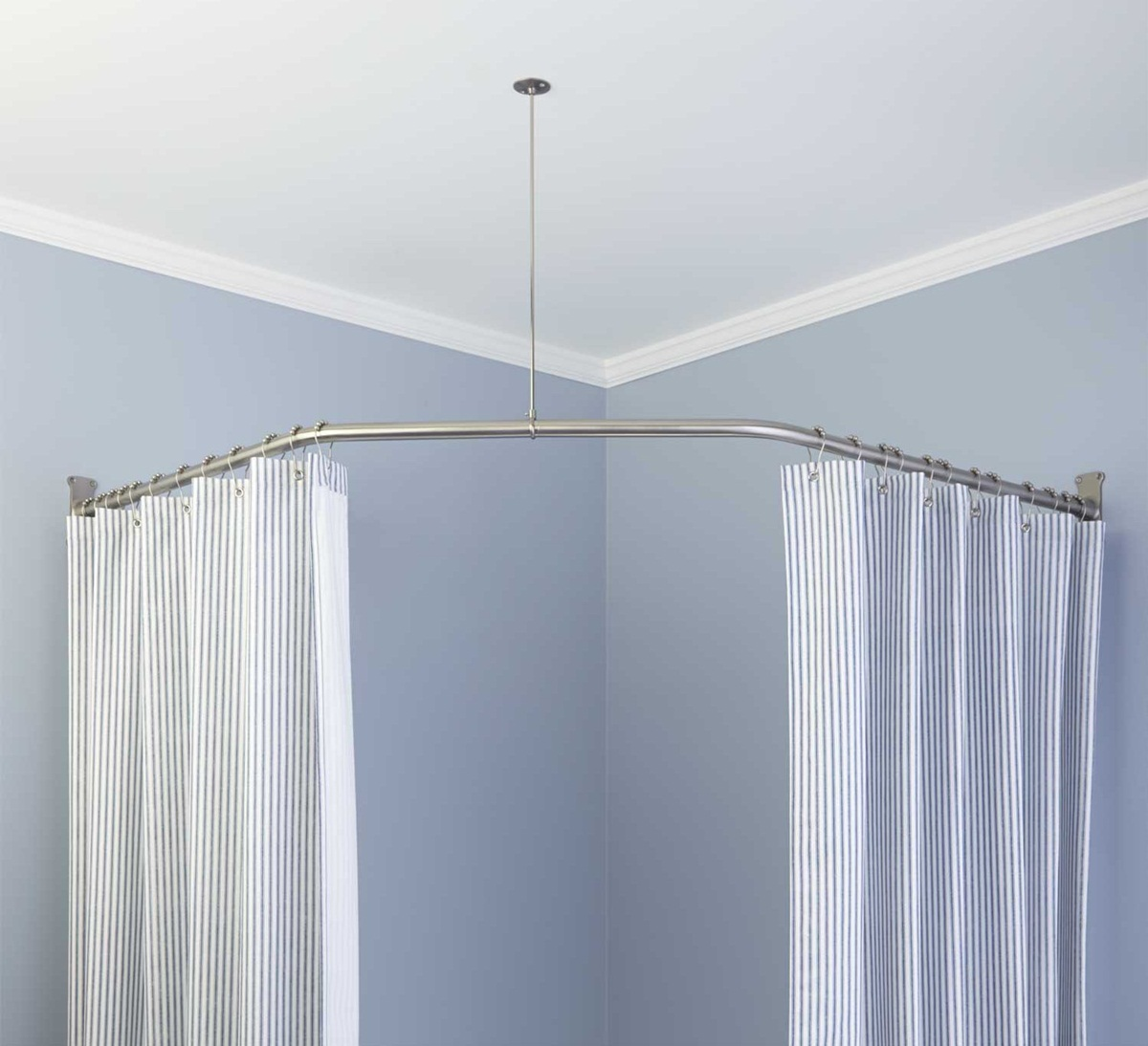 Where to Buy Curved Curtain Rods | Curved Curtain Rods | Curved Curtain Rods for Corner Windows