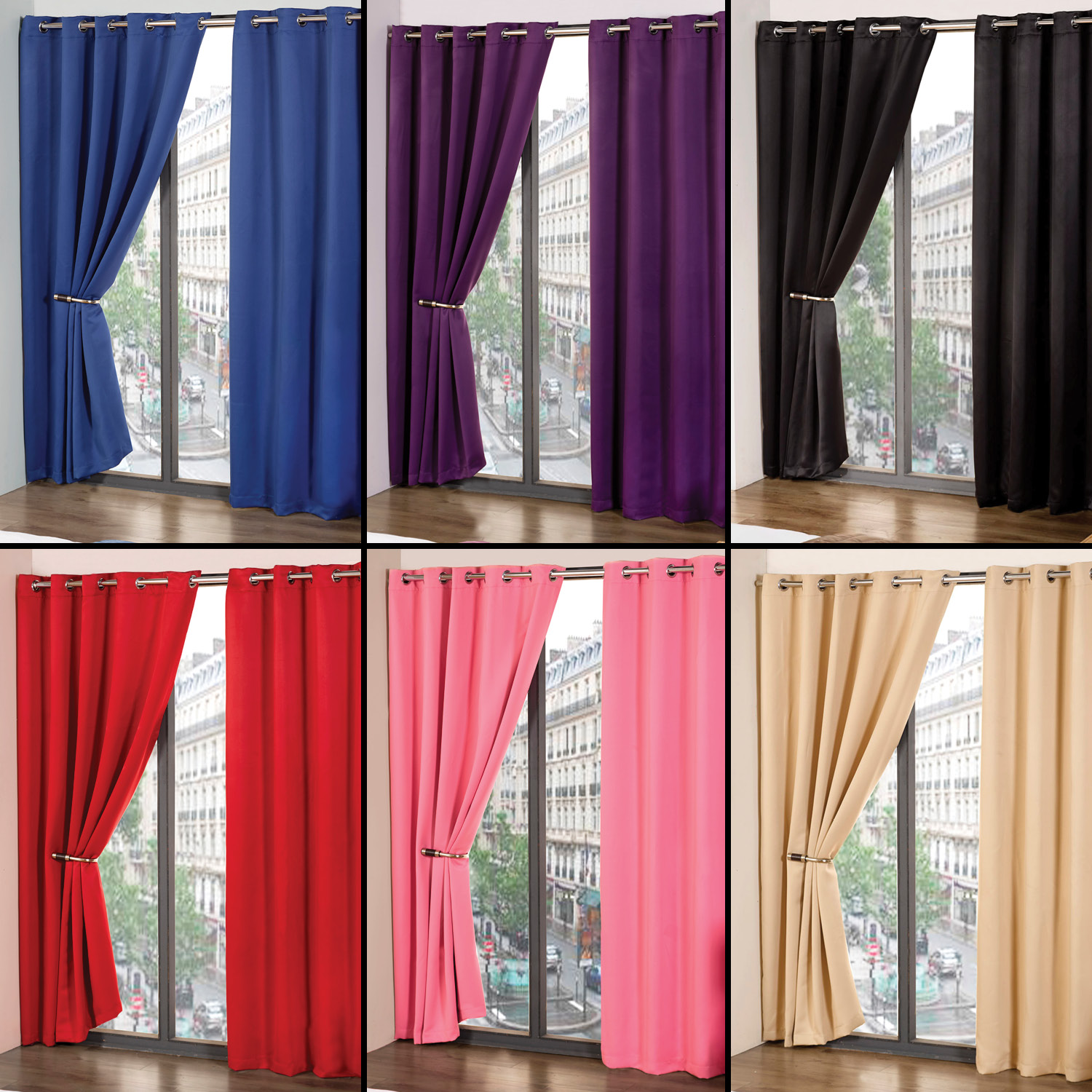 Cheap Blackout Curtains for Inspiring Home Decorating Ideas: White Light Blocking Curtains | Cheap Blackout Curtains | Light Blocking Window Panels