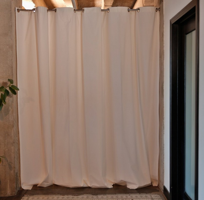 Wire Curtain Room Divider | Room Curtain Divider Ikea | Room Divider Curtains