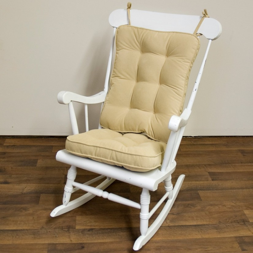 Wooden Rocking Chair Cushions | Gray Rocking Chair Cushions | Rocking Chair Cushion