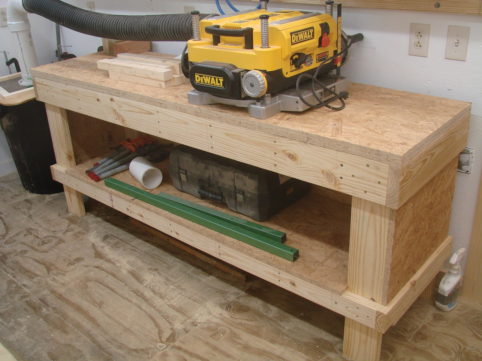 Work Bench Legs | Folding Metal Workbench | Workbench Legs Kit