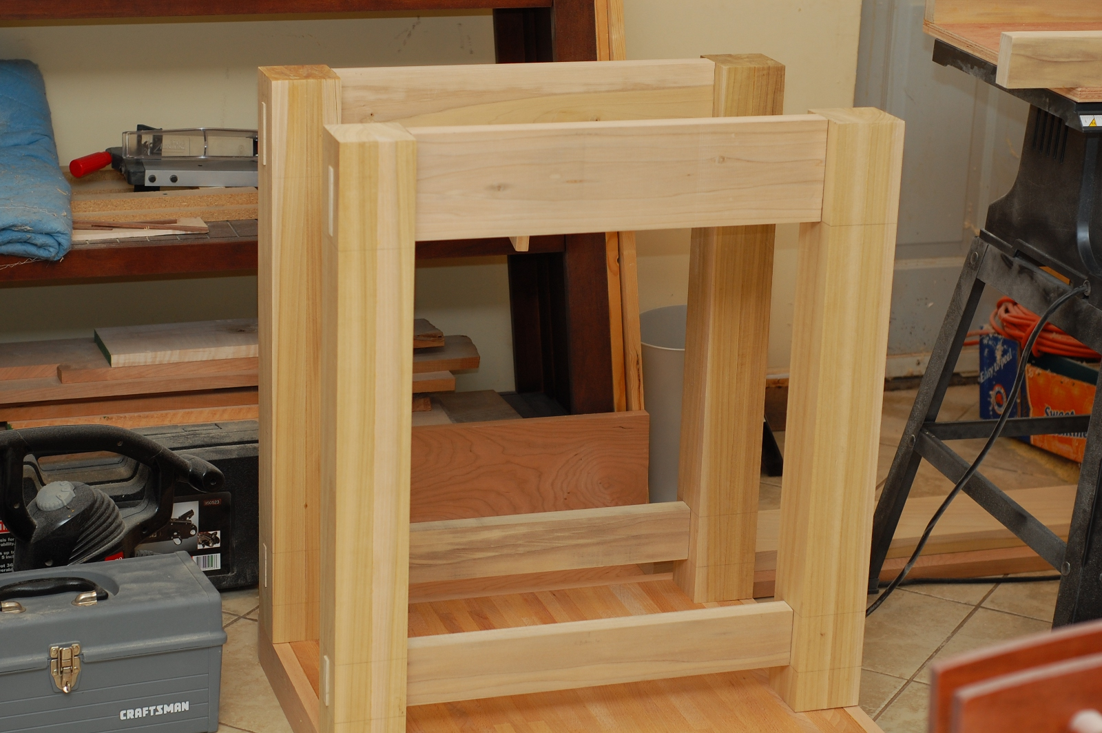 Work Bench Legs | Sawhorse Legs for Table | Workbench Kits