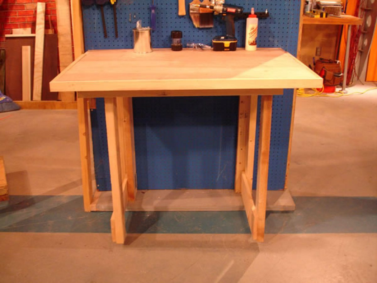Workbench Folding Legs | Foldaway Bench | Wall Mounted Folding Workbench