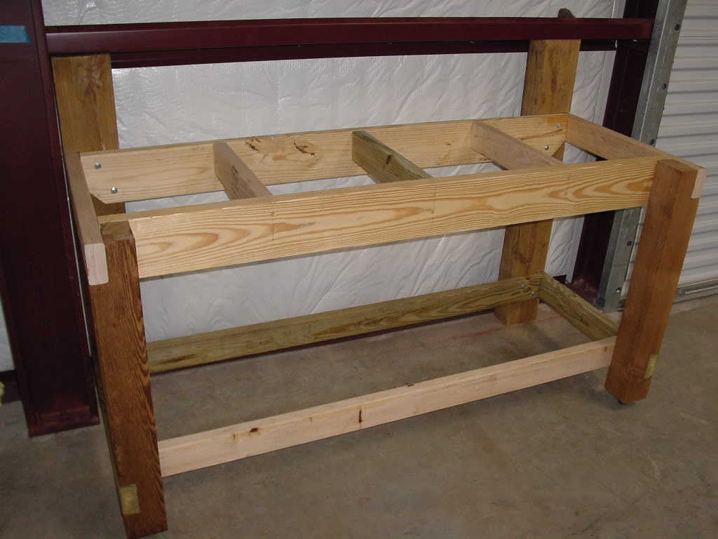 Workbench Leg Kit | Sawhorse Legs for Table | Work Bench Legs